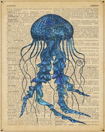 Vintage Jellyfish by Sparx Studio