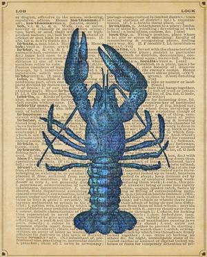 Vintage Lobster by Sparx Studio