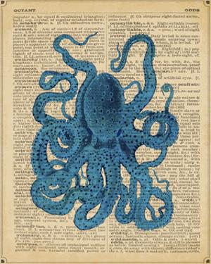 Vintage Octopus by Sparx Studio