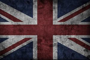 Grunge Uk National Flag by Spaxia