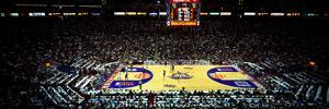 Spectators watching a basketball game, NBA 1995 All-Star Game, US Airways Center, Phoenix, Maric...