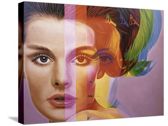 Spectrum-Richard Phillips-Stretched Canvas Print