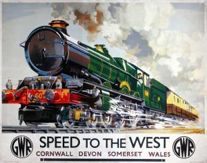 Speed to the West, Cornwall, Devon, Somerset, Wales GWR