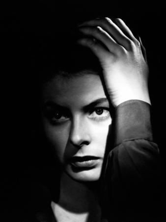 Spellbound, Ingrid Bergman, Directed by Alfred Hitchcock, 1945