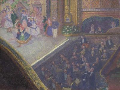 Ballet Scene from 'On the Sands', 1910
