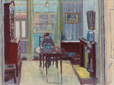 Interior of Room at 6 Cambrian Road, Richmond, 1914