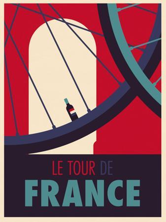 Tour de France by Spencer Wilson