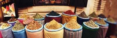 Spice Market Inside the Medina in Marrakesh, Morocco