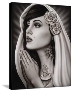 Tattooed Mary by Spider (Artist)
