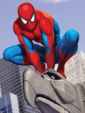 Spider-Man In the City on Gargoyle