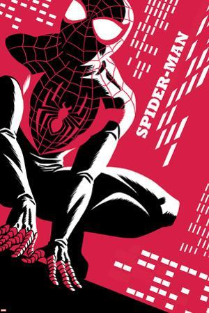 Spider-Man No.1 Cover, Featuring Ultimate Spider-Man Morales