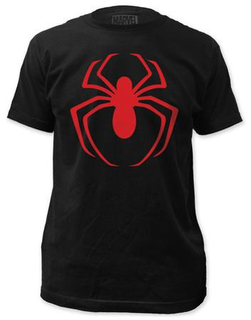 Spiderman - Red Logo (slim fit)