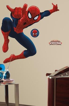 Spiderman   Ultimate Spiderman Peel U0026 Stick Giant Wall Decal Part 90
