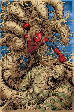 Spidey No.2 Cover, Featuring Spider-Man and Sandman