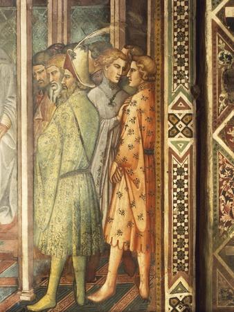 Barbarossa Kneeling before Pope, Scene from Stories of Alexander III, 1407-1408