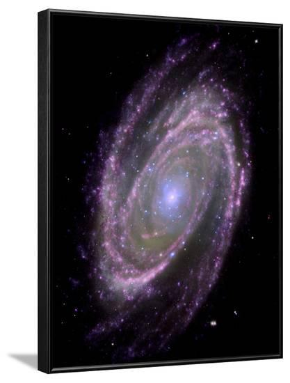 Spiral Galaxy M81, Composite Image--Framed Photographic Print