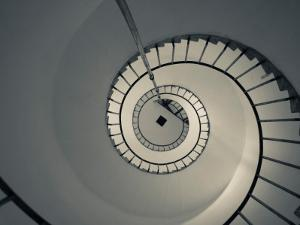Spiral Staircase in a Lighthouse, Cabo Santa Maria Lighthouse, La Paloma, Rocha Department, Uruguay