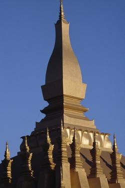 Spire of Wat That Luang (Great Holy Stupa), Vientiane (Viangchan), Laos, 3rd Century