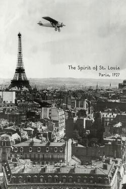 Spirit of St. Louis at Paris