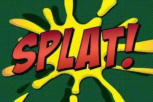 Splat! Comic Pop-Art