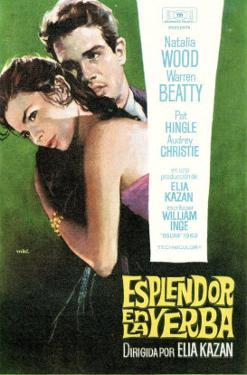Splendor in the Grass, Spanish Movie Poster, 1961