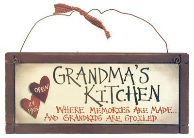 Spoiled Grandkids Wood Sign