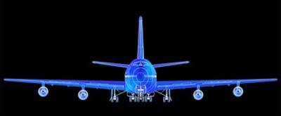 Boeing 747 - Front View by Spooky2006