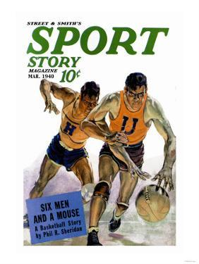 Sport Story Magazine: Six Men and a Mouse