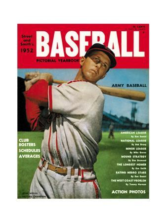 Sporting News Magazine, 1952 - Stan Musial - Batting Champion