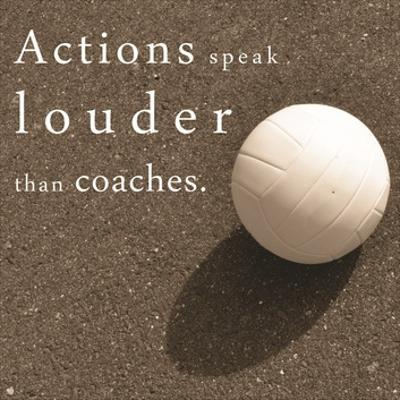 Actions Speak Louder than Coaches by Sports Mania