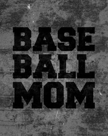 Baseball Mom-Gray by Sports Mania