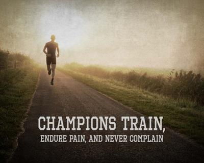 Champions Train Man Color by Sports Mania