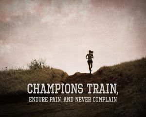 Champions Train Woman Color by Sports Mania