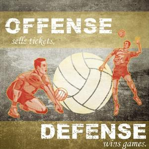 Offense, Defense by Sports Mania