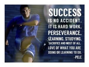 Success is No Accident by Sports Mania