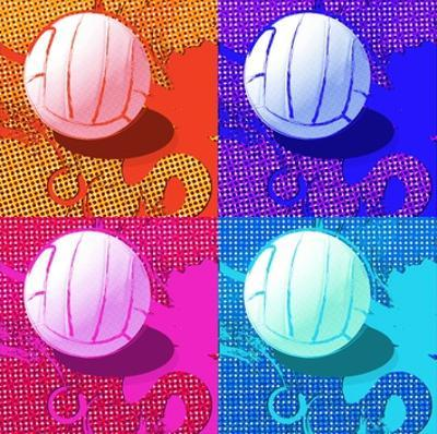 Volleyball Pop by Sports Mania
