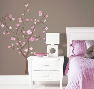 Spring Blossom Peel & Stick Giant Wall Decal