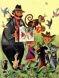 Children's Mammals Giclee Prints at AllPosters com