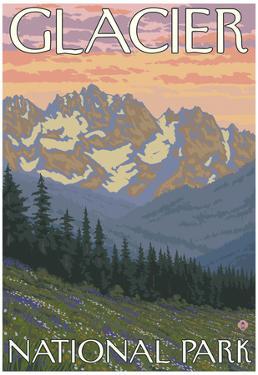Spring Flowers, Glacier National Park, Montana