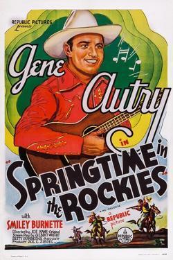 Springtime in the Rockies, Gene Autry, 1937