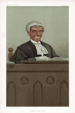 A Lawyer on the Bench, 1902 by Spy