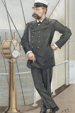 Albert I, Prince of Monaco (1848-192), Amateur Oceanographer, 1900 by Spy