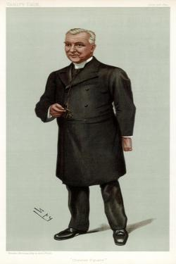 Chester Square, Canon Fleming, British Clergyman, 1899 by Spy