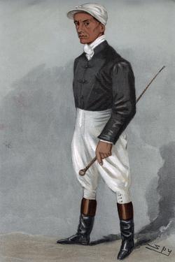 Fred Rickaby, English Jockey 1901 by Spy