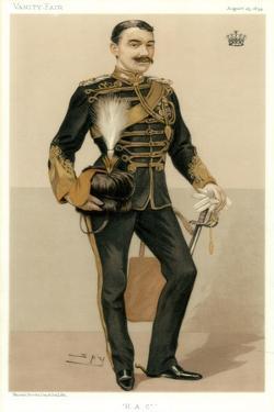 H a C, the Earl of Denbigh, 1894 by Spy