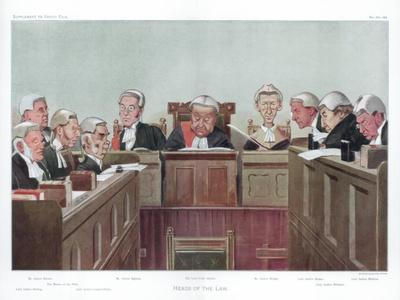 Heads of the Law, 1902