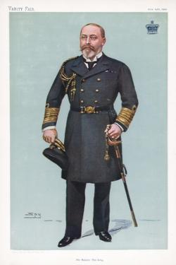 His Majesty the King, 1902 by Spy
