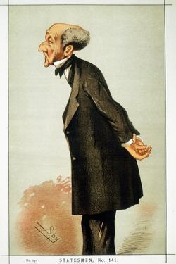 John Stuart Mill, British Social Reformer and Philosopher, 1873 by Spy