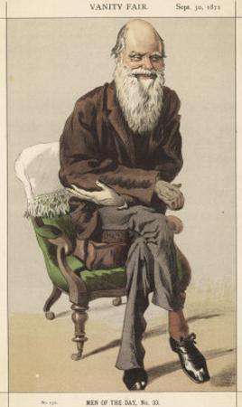 Charles Darwin Naturalist by Spy (Leslie M. Ward)
