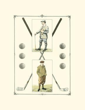 Golfers: John Henry & R. Maxwell by Spy (Leslie M. Ward)